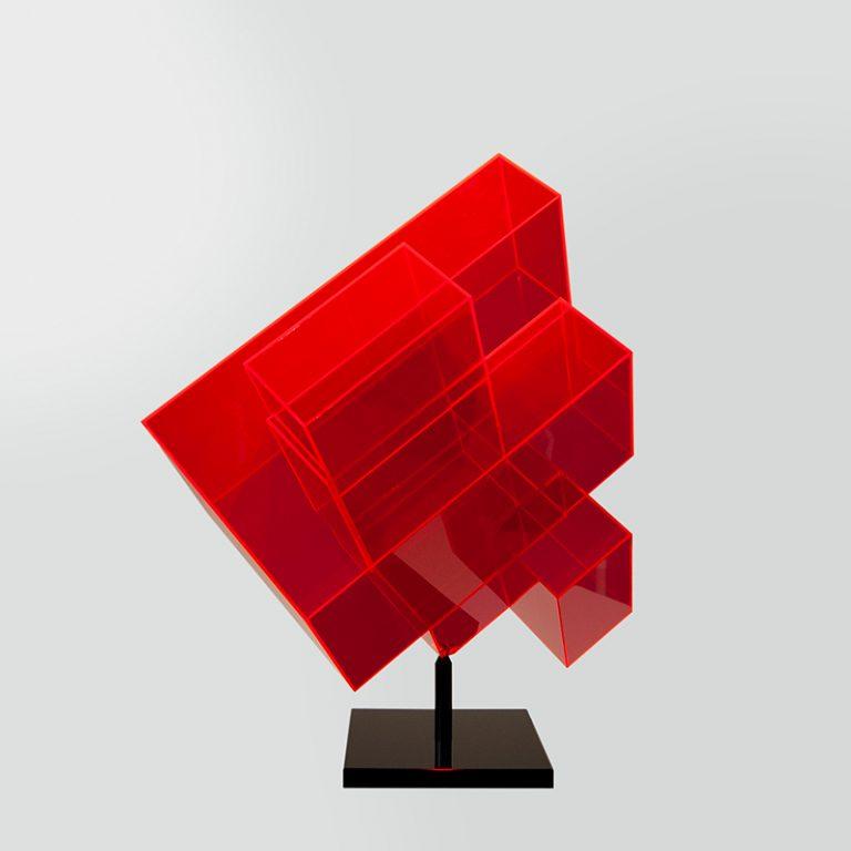 Skulptur Acryl rot DSC_0664-800x800