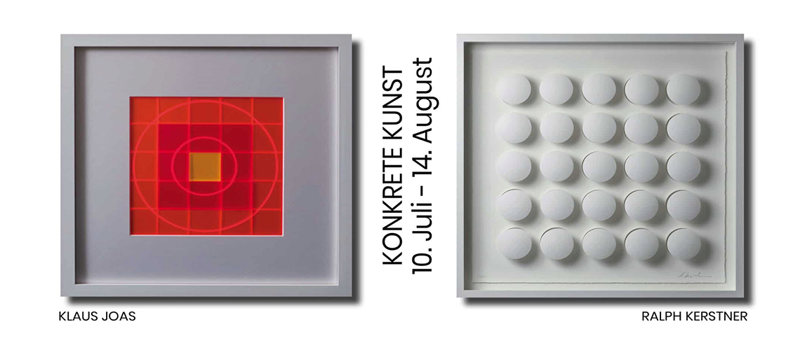 Konkrete Kunst Ausstellung 2021, Galerie Kertsen